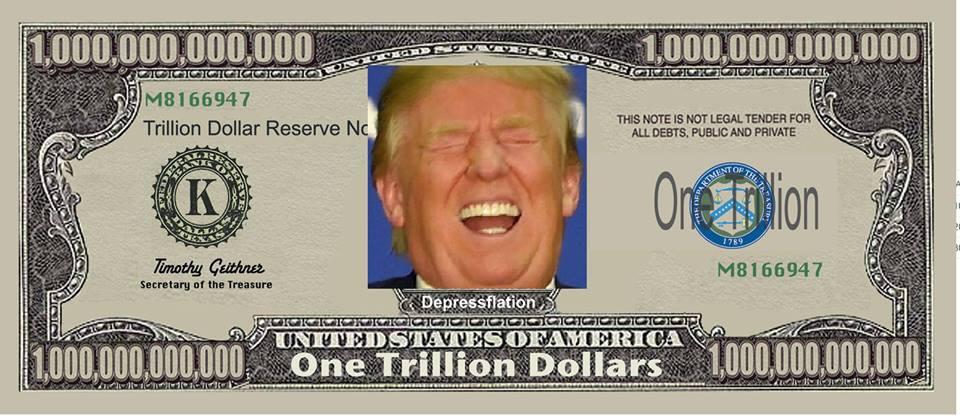 Trump on the dollar.