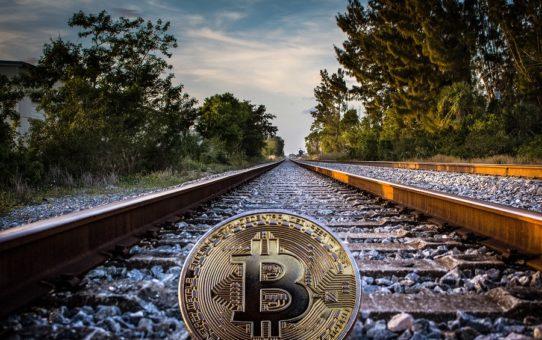 Bitcoin like train.